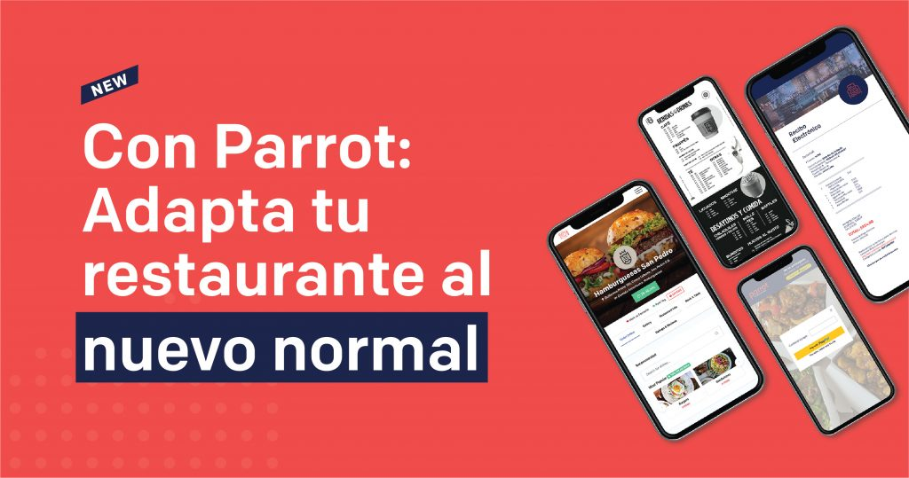 Nuevo normal Covid Parrot